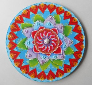 Mandala Flor de Lótus