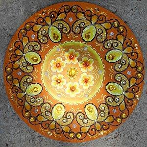 Mandala Luz Amarela