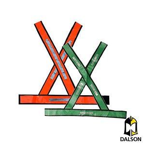 Colete refletivo em X