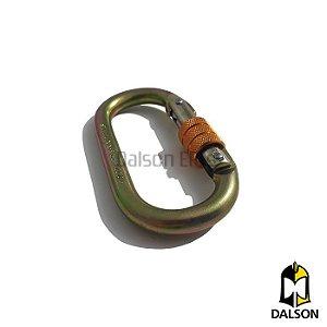 Mosquetão oval 25KN Steelflex NBR 15.837: 2010-B