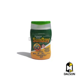 Protetor solar FPS 60 repelente Sunday 120ml Nutriex
