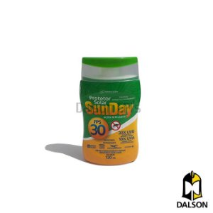 Protetor solar FPS 30 repelente Sunday 120ml Nutriex