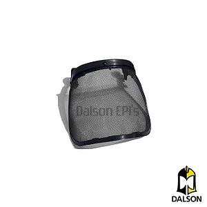 Protetor facial em tela nylon com slot - Plastidur