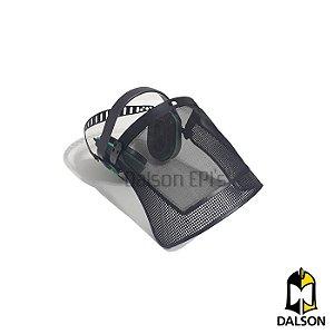 Kit jardineiro protetor auricular + protetor facial em tela - Libus CA 35935