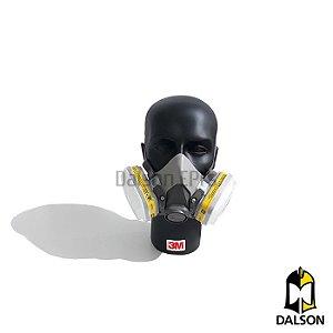 Kit respirador 3M MOD 6200 - cartucho 6003 CA 4115