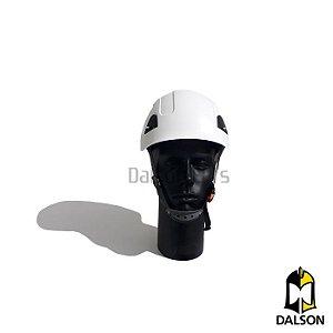 Capacete com suspensão Falcon branco Steelflex CA 42234