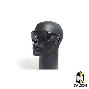 Óculos de segurança Danny modelo Fênix fumê CA 9722