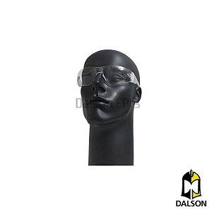 Óculos de segurança Kalipso modelo Leopardo incolor CA 11268