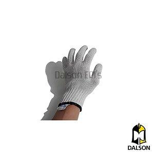 Luva tricotada pigmentada branca - Volk CA 30521