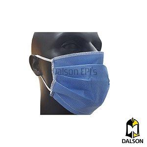Máscara hospitalar SMS - Pacote com 50 unidades