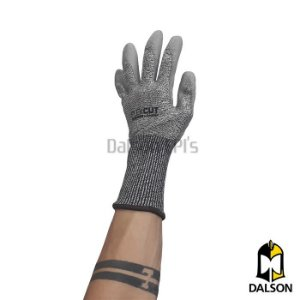 Luva anti-corte punho longo FlexCut DA 45.400L - Luva PU Danny CA39924