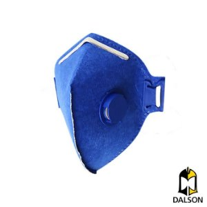 Máscara descartável PFF1 com válvula