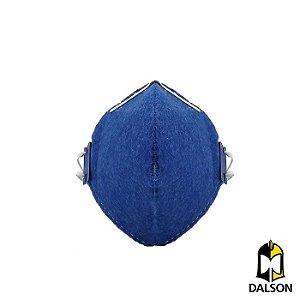 Máscara descartável PFF2 sem válvula DeltaPlus - Caixa com 100 unidades