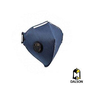 Máscara descartável PFF2VO vapores orgânicos com válvula