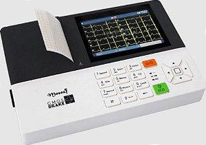Eletrocardiógrafo ECG Moses 3 Canais