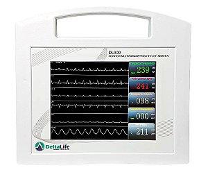 Monitor Multiparamétrico  com 7 Parâmetros Veterinário DL900 Delta Life