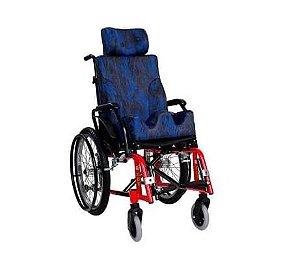 Cadeira de Rodas Infantil VENTURA em Aço Carbono com Modul