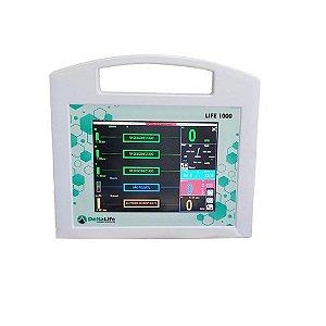 LIFE 1000 Monitor Multiparamétrico - Uso Hospitalar Humano