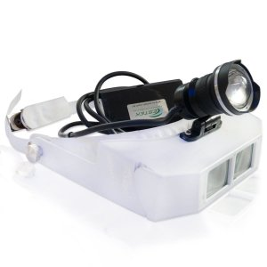 Lupa de Cabeça com Fotoforo Power LED Autovolt - Estek
