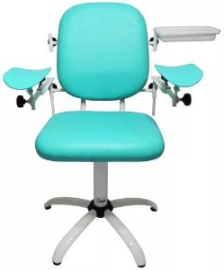 Cadeira de Coleta com Bandeja