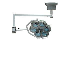 Foco Auxiliar Cirurgico de Teto M300T (6 Bulbos)