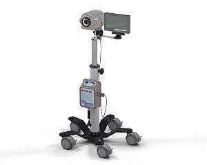"""Vídeo Colposcópio LED Ampliação até 30X com Monitor de 7"""""""