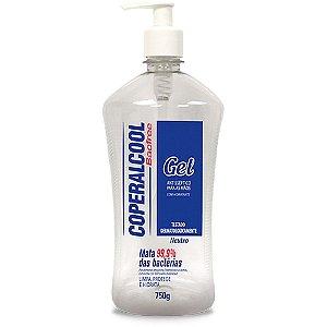 Álcool em Gel Higienizador de Mãos 70º - 750g.