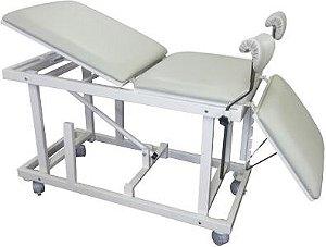 Mesa Ginecológica para Exames de Ultrassonografia Com Regulagem de Altura
