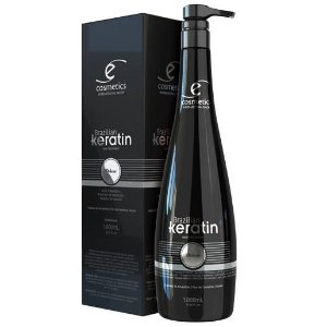 Brazilian Keratin Ecosmetics Progressiva Semi Definitiva Orgânica 1000ml