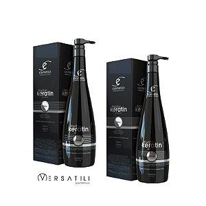 Brazilian Keratin Ecosmetics Progressiva Orgânica 1000ml - 2 unidades