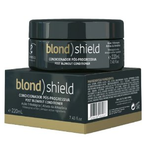 Máscara Blond Shield BRAZILIAN KERATIN 220 ml  Ecosmetics