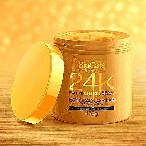 Máscara De Reconstrução Biocale Ouro 24k 470g