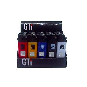 Isqueiro Descartável GTI Sólido Box C/25 Unidades