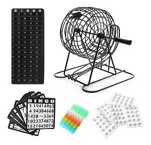 Jogo de Bingo de Mesa Completo 245 Peças Western BG100