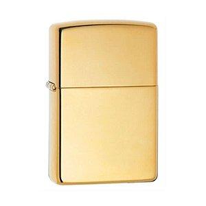 Isqueiro Zippo 254B Classic Bronze Sólido Polido