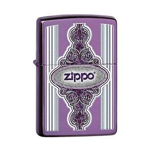 Isqueiro Zippo 28866 Classic Intrincado Roxo Abyss