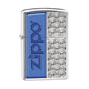 Isqueiro Zippo 28658 Classic Redemoinho Azul Especial