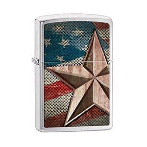 Isqueiro Zippo 28653 Classic Estrela Americana