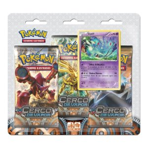 Pokémon TCG Triple Pack Azelf - XY 11 Cerco de Vapor