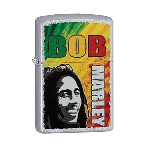 Isqueiro Zippo 29126 Classic Bob Marley Acetinado