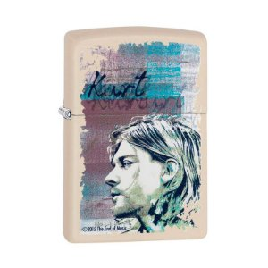 Isqueiro Zippo 29051 Classic Kurt Cobain Creme
