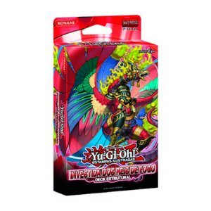 Yu-Gi-Oh! Deck Estrutural - Investida dos Reis de Fogo