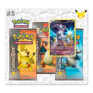 Pokémon TCG: Triple Pack Gerações - Arceus