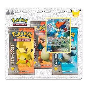 Pokémon TCG: Triple Pack Gerações - Keldeo