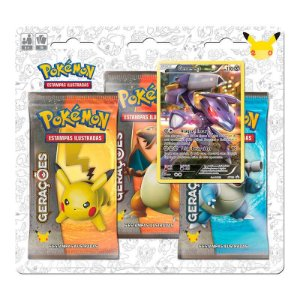 Pokémon TCG: Triple Pack Gerações - Genesect