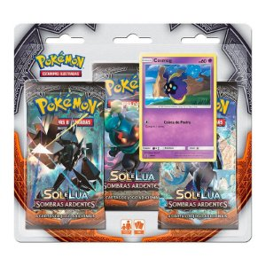 Pokémon TCG: Triple Pack SM3 Sombras Ardentes - Cosmog