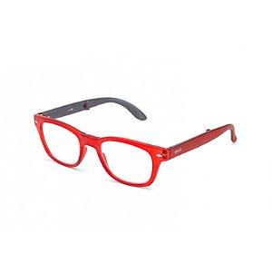 Óculos de Leitura Bold B+D Vermelho/Cinza