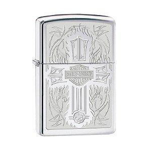 Isqueiro Zippo 28982 Harley-Davidson® Cross Polido