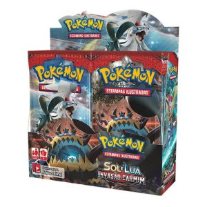 Pokémon TCG: Booster Box (36 unidades) SM4 Invasão Carmim