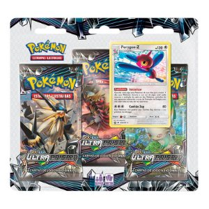Pokémon TCG: Triple Pack SM5 Ultra Prisma - Porygon-Z